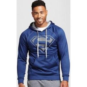 DC Comics Shirts - NEW! Men's Superman Hoodie, navy